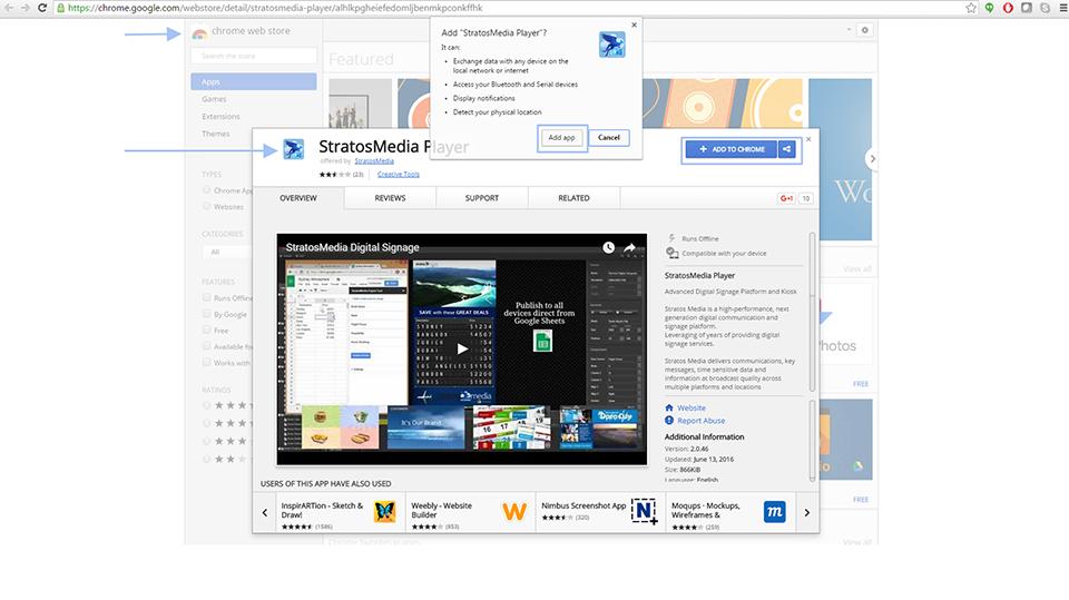 Add Chrome Player 01