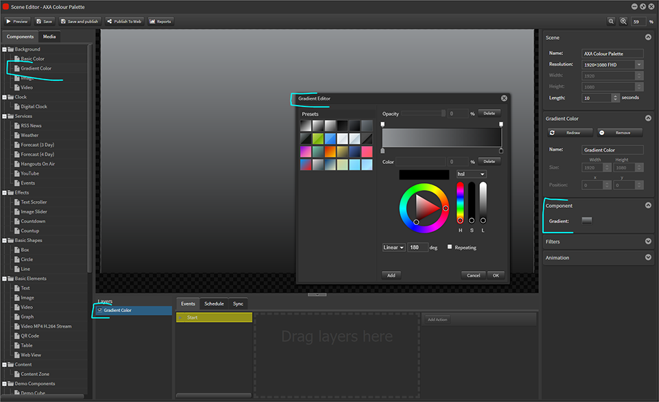Colour Palette 00